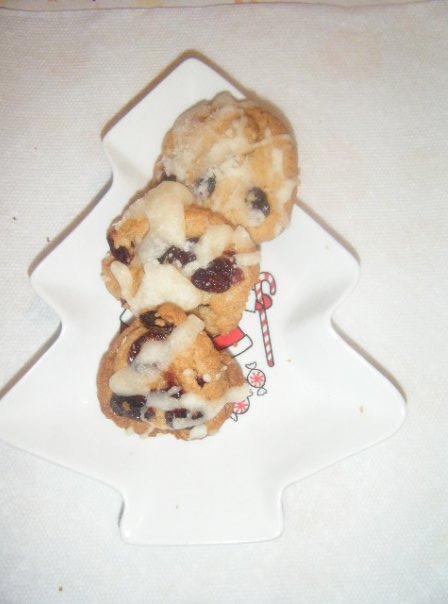 Emerald's Cranberry Cookies