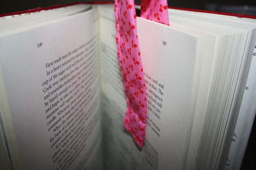 Magnetic Fabric Bookmarks