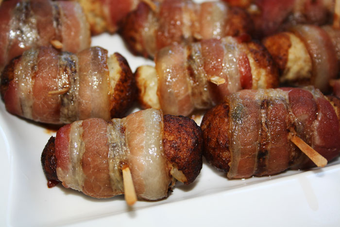 Bacon-Wrapped Tater Tots Recipe — Dishmaps