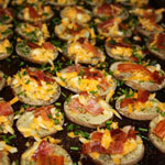Bacon-Cheddar Potato Rounds