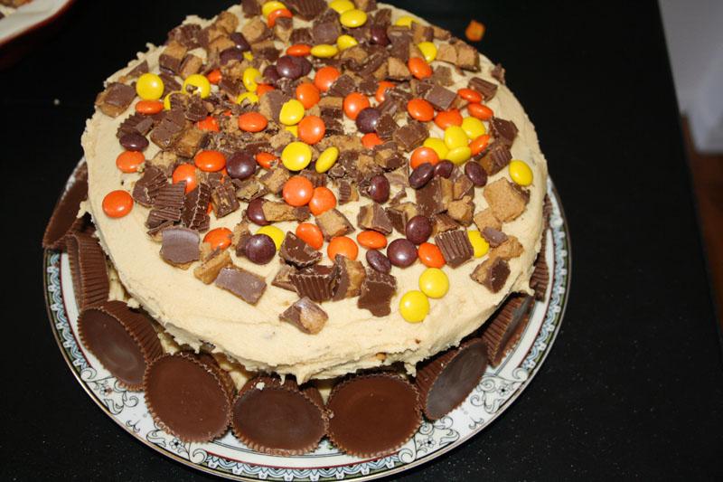 Reeses Chocolate Peanut Butter Cake Chocolate Peanut Butter Cake