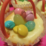 Easter Cheesecake Baskets