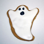 Sturdy Cut Out Cookies - Ghosts & Tombstones