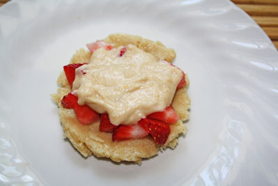 Raw Vegan Strawberry Pie