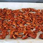Smoky Maple and Brown Sugar Candied Pecans