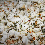 Spiced up Popcorn aka Italian Breadstick Popcorn