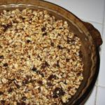 Vegan Chocolate Oatmeal Tart