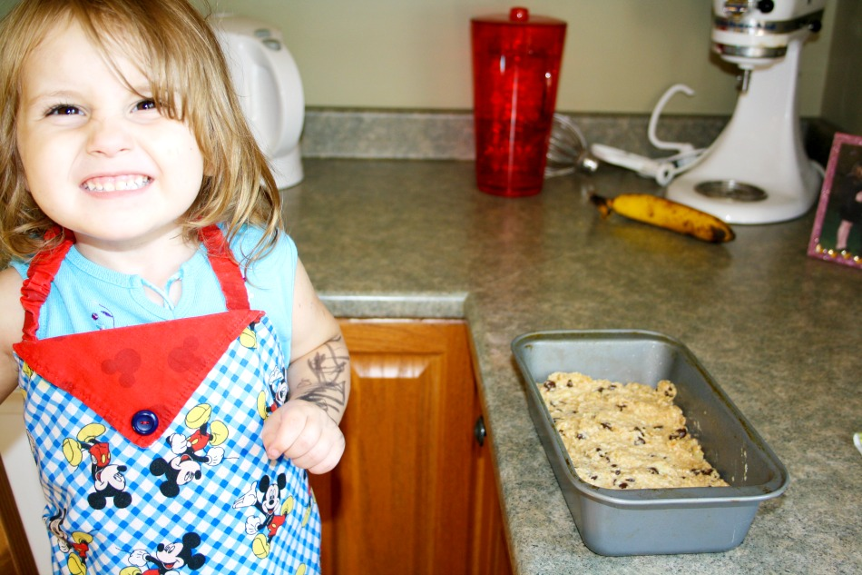 Baking with Kids - Banana Loaf