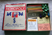 Window Shopping Wednesday - Keeley Behling Studios - Vintage Antique Monopoly 1937 Parker Brothers
