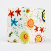 Window Shopping Wednesday - Octopurse - Card holder - Colorful flowers