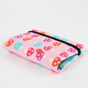 Window Shopping Wednesday - Octopurse - Card holder - Mushrooms on pink