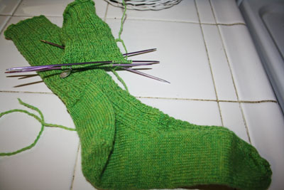 Work in Progress Wednesday #11 - Hedgerow Socks